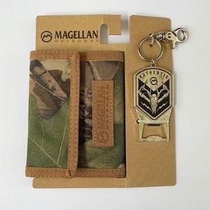 Magellan Outdoors   Men's Camo Snap Wallet Set